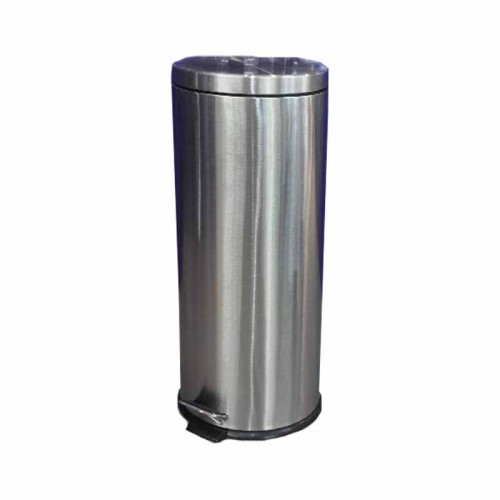 Basurero acero inoxidable 30L