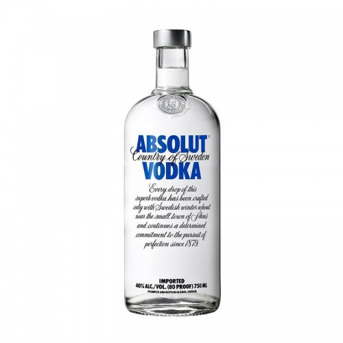 Vodka Absolut 12 Años 750ml