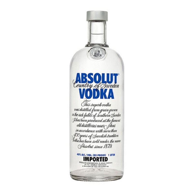 Vodka Absolut 12 Años 1000ml