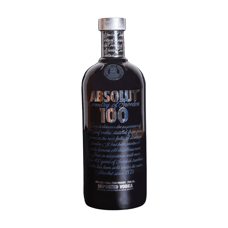 Vodka Absolut 100 12 Años 750ml