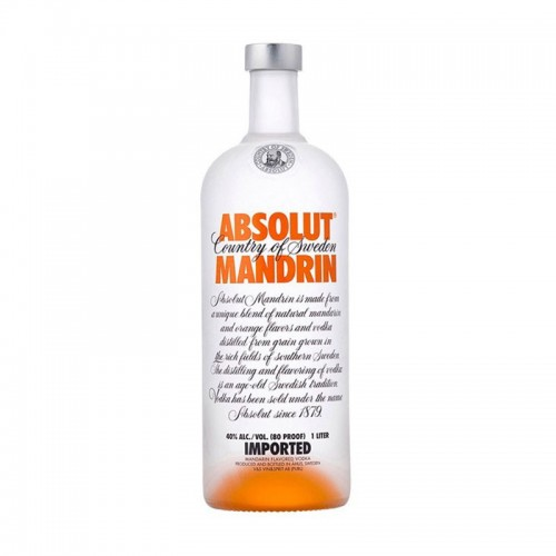 Vodka Absolut Mandarin 12 Años 1litro
