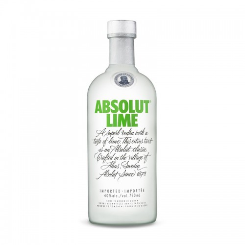Vodka Absolut Lime 12 Años 750ml