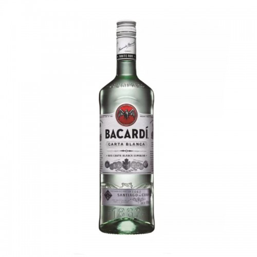 Ron Bacardi Blanco 12 Años 750ml