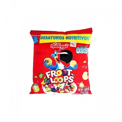 Cereal Froot Loops 250 gr Kelloggs