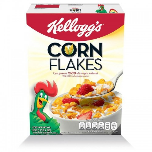 Cereal Corn Flakes 370 gr Kelloggs
