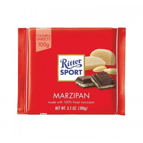 Chocolate Mazapan 100 gr Ritters Sport
