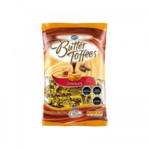 Chocolates con caramelo 150 gr Butter Toffees