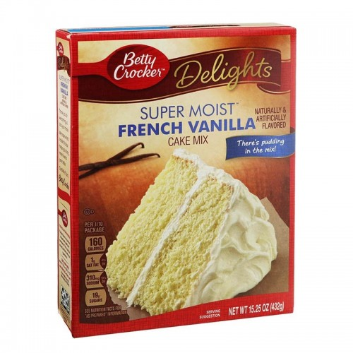 Super Moist French de Vainilla 432 gr Betty Crocker