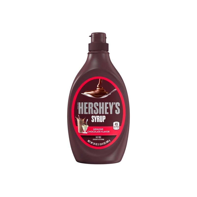 Syrup Genuine Chocolate Flavor 24 Onz Hershey's