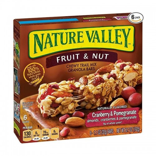 Caja de Barras de Granola Fruit & Nut 192 gr Nature Valley