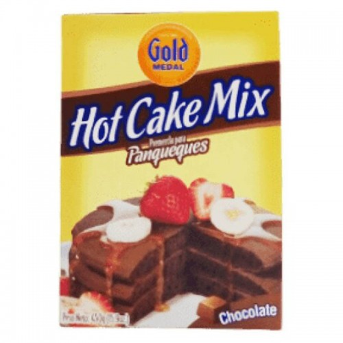 Hot Cake Mix Chocolate 451 gr Gold Medal