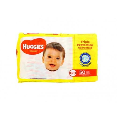 Pañales desechables G|3 50 unidades Huggies Classic