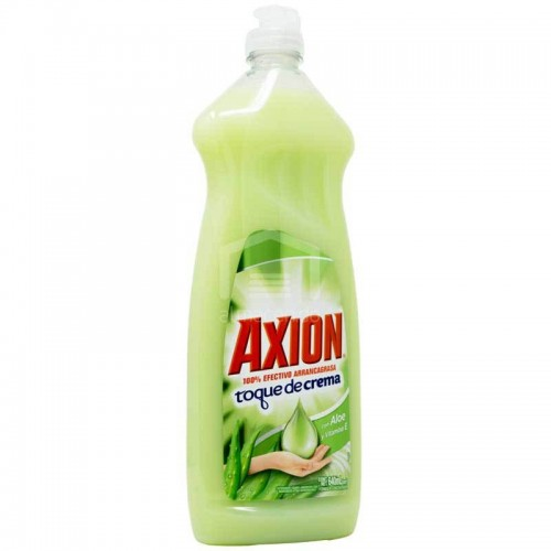 Lavaplatos Toque de crema Aloe 640 Ml Axion