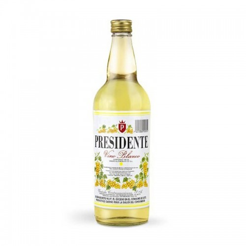 Botella Vino blanco 750ml Presidente