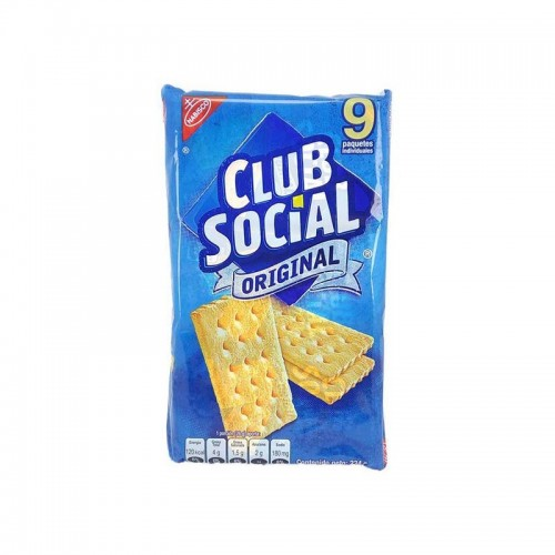 Galleta Nabisco 9 unidades Club Social