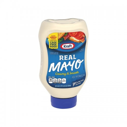 Mayonesa 650 ml Real Kraft