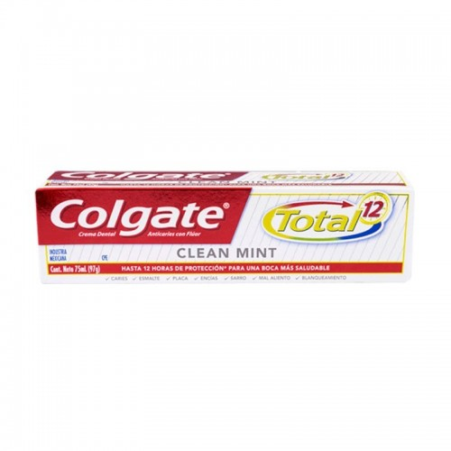 Pasta dental Total 12 75 ml Colgate