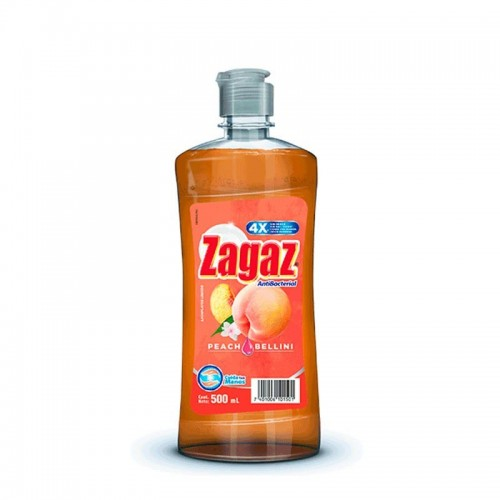 Lavaplatos Líquido Peach 500 ml Zagaz