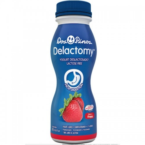 Yogurt Delactomy fresa 200 ml Dos Pinos