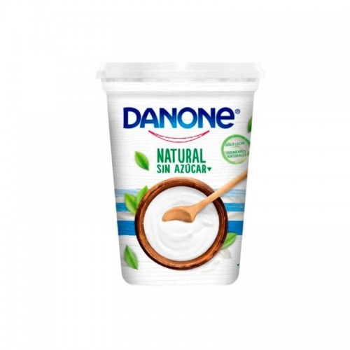 Yogurt sin azúcar natural 900 gr Danone
