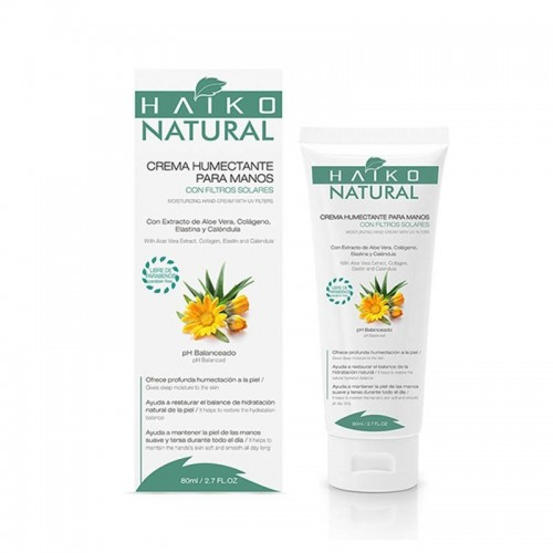 Crema humectante para manos 80 ml Haiko natural