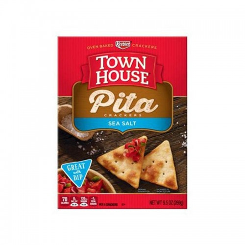 Galleta pita sea salt 269 gr TownHouse