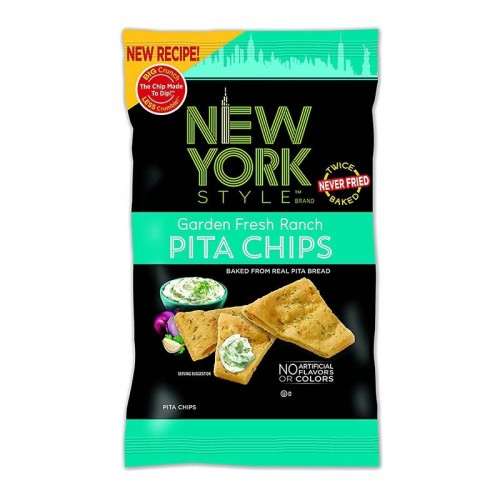 Style pita chips garden fresh New York