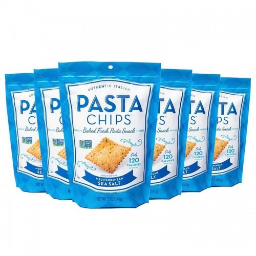 Frituras Mediterranean Sea Salt Pasta Chips