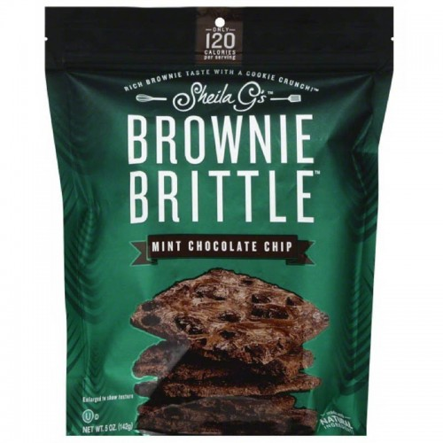 Brownie mint chocolate chip 5 oz Sheila GS
