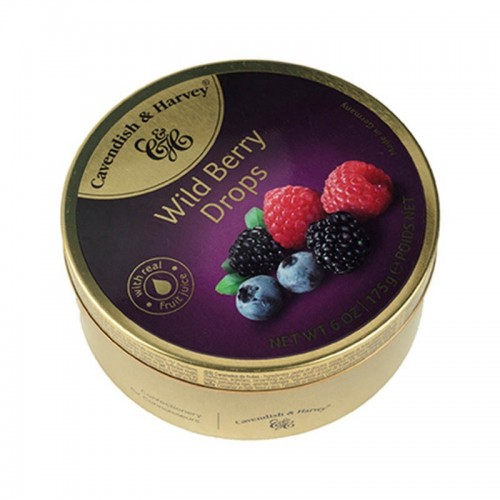 Dulce wild berry 175 gr Cavendish & Harvey