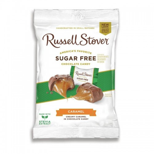 Chocolates Caramel 3 onz Russell Stover