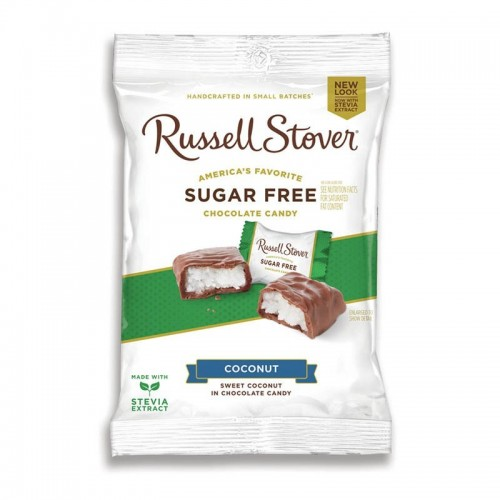 Chocolates Coconut 3 onz Russell Stover