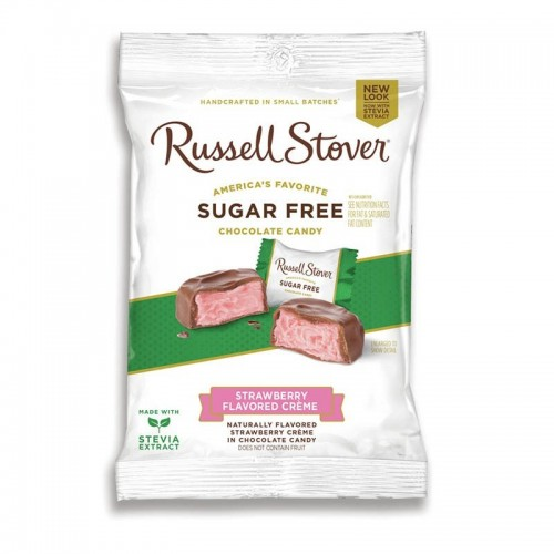 Chocolates Stawberry creme 3 onz Russell Stover