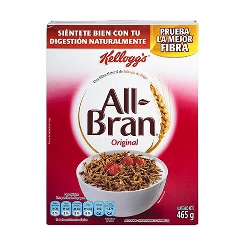 Cereal All Bran Original 465 gr