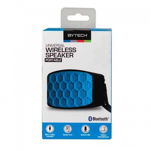 Mini Bocinas Bluetooth Celeste