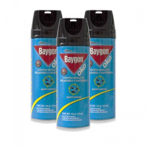 Insecticida Bygon Oko 3 Pack