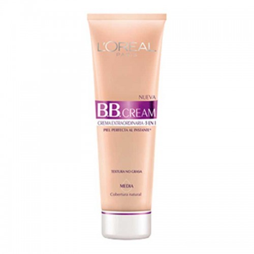 Crema Facial BB Cream Tono Media Hidra-Total 5