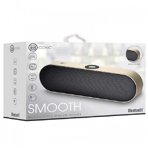 Bocina Bluetooth Biconic Smooth